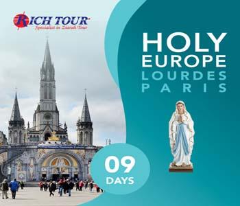 Holy Europe Lourdes