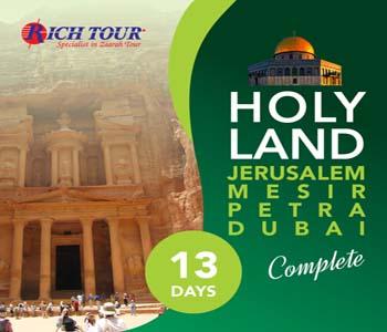 Jerusalem Mesir Petra Dubai Complete