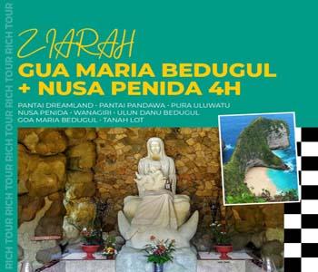 Ziarah Gua Maria Bedugul + Nusa Penida
