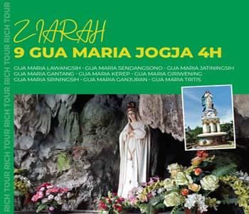 Ziarah 9 Gua Maria Jogja